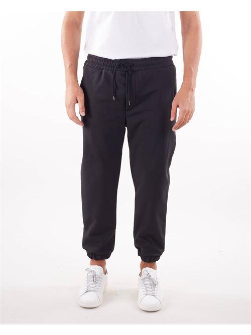 Pantalone con elastico al fondo Woc WOC | Pantalone | PA031SSNERO