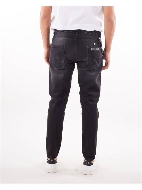 Jeans cinque tasche  lavaggio nero Yes London YES LONDON | Jeans | XJ2986NERO