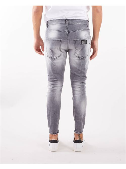 Jeans con rotture Yes London YES LONDON   Jeans   XJ2990GRIGIO