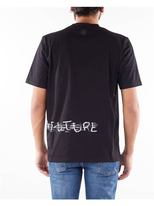 T-shirt con stampa Yes London YES LONDON | T-shirt | XM3893NERO