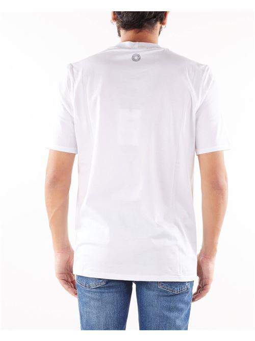 T-shirt in filo di Scozia Yes London YES LONDON | T-shirt | XM3930BIANCO