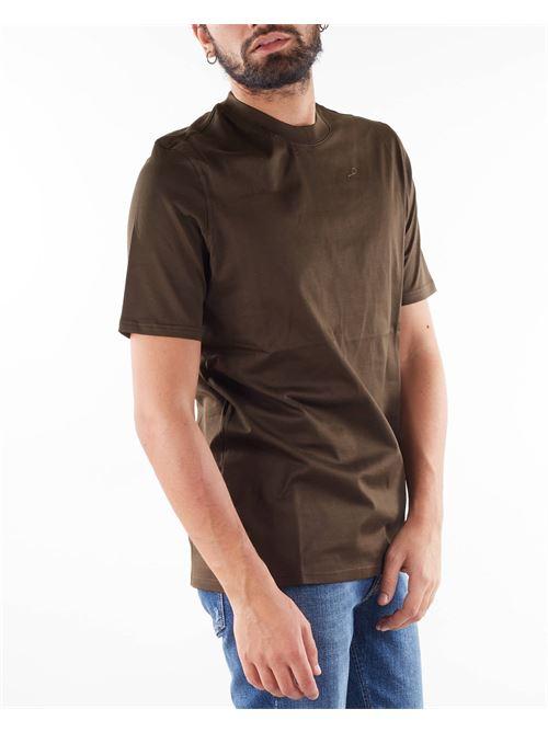 T-shirt in filo di Scozia Yes London YES LONDON | T-shirt | XM3930VERDE