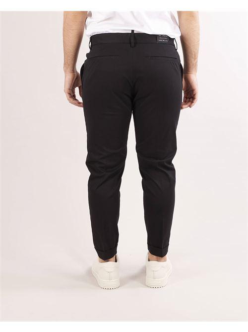 Pantalone in cotone caldo con elastico in vita Yes London YES LONDON | Pantalone | XP3107NERO