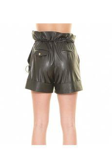 Shorts effetto pelle Babylon BABYLON | Shorts | E00038NERO
