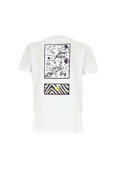 T-Shirt bianca mezza manica Daniele Alessamdrini DANIELE ALESSANDRINI | T-shirt | 1236M0558BIANCO