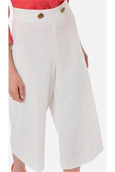 Pantalone a gamba larga Elisabetta Franchi ELISABETTA FRANCHI | Pantalone | PA05401E2360