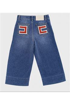 Jeans con logo elisabetta Franchi la mia bambina ELISABETTA FRANCHI | Jeans | PA88DF004104