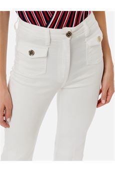 Pantalone in denim Elisabetta Franchi ELISABETTA FRANCHI | Pantalone | PJ56D01E2360