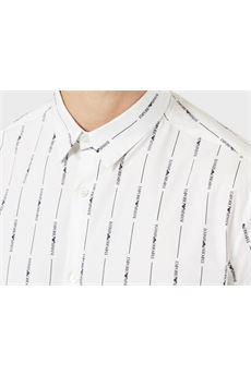 Camicia con stampa logo all over Emporio Armani EMPORIO ARMANI | Camicia | 3H1C091N86ZF108