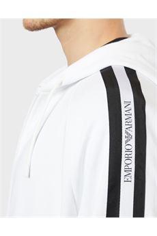 Felpa zip e cappuccio con bande laterali logate Emporio Armani EMPORIO ARMANI | Felpa | 3H1MG61J07Z0100