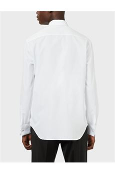 Camicia collo francese con davantino in piquet Emporio Armani EMPORIO ARMANI | Camicia | 51C53G51DC5101