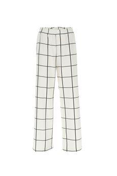 Pantalone palazzo a maxi quadri Imperial IMPERIAL | Pantalone | PVT3ZGBBN