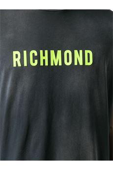 T-shirt effetto vintage John Richmond JOHN RICHMOND | T-shirt | 20008TSGRIGIO