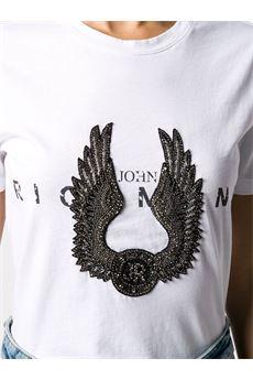 T-shirt con applicazione John Richmond JOHN RICHMOND   T-shirt   20141TSBIANCO