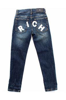 Jeans bambino John Richmond con scritta JOHN RICHMOND | Jeans | 20169JEDENIM