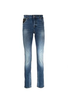 Jeans slim con scritta ''Rich'' sul retro John Richmond JOHN RICHMOND | Jeans | 20173JEDENIM