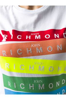 T-shirt con stampa John Richmond JOHN RICHMOND | T-shirt | 20186TSBIANCO