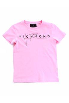 T-shirt con logo John Richmond JOHN RICHMOND | T-shirt | 20198TSROSA