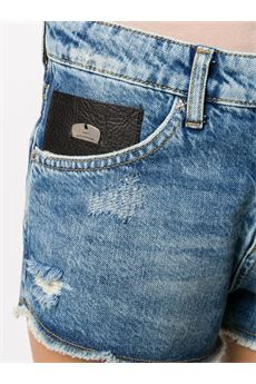 Shorts denim con effetto vissuto John RIchmond JOHN RICHMOND | Shorts | 20500SHDENIM
