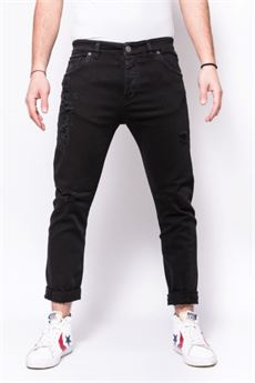 Pantalo in denim di coton bestseller Patriot PATRIOT | Jeans | PKAY880NERO