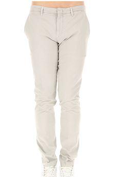 Pantalone Siviglia tasche a filo in cotone sabbia SIVIGLIA | Pantalone | B2E2S0141135