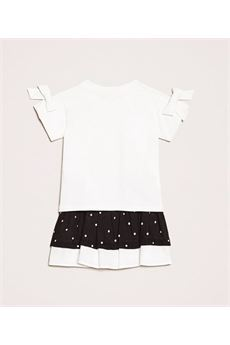 T-shirt con fiocchi e gonna a pois Twin Set TWIN SET | Completo | GB23504933