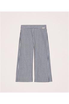 Pantaloni cropped in Vichy Twin Set TWIN SET | Pantalone | GJ20924922