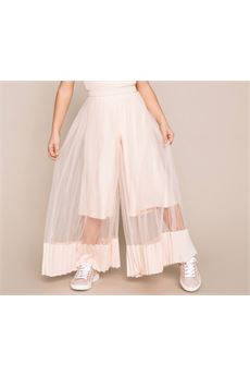 Pantalone in tulle e raso plissè Twin Set TWIN SET | Pantalone | GJ2QDB690