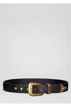Cintura con dettagli heritage dorati Versace Jeans Couture VERSACE JEANS COUTURE | Cintura | D8GVBF1571554899