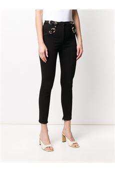 Pantalone modello jeans skinny con fibbia Versace Jeans Couture VERSACE JEANS COUTURE | Pantalone | A1HVA023APV54899