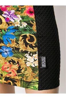 Abito corto a fiori Versace Jeans Couture VERSACE JEANS COUTURE | Abito | D2HVA420S0643983