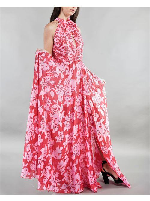 Abito lungo fantasia floreale Anna Molinari ANNA MOLINARI | Abito | 241112700