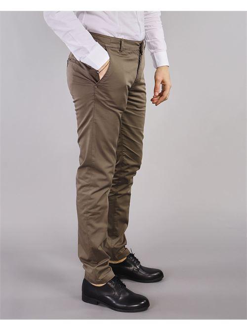 Pantalone tasca america in cotone Camouflage CAMOUFLAGE | Pantalone | CHINOSREY781