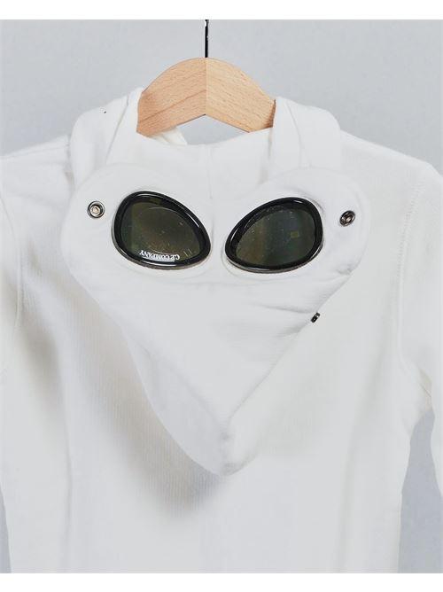 Felpa con logo e occhiali C.P. Company C.P. COMPANY | Felpa | 10CKSS059A003569W103
