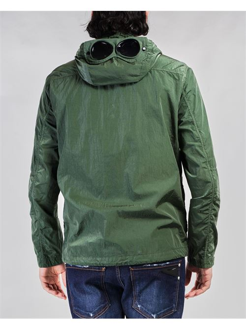 Giubbotto Chrome-R Mixed Garment Dyed Goggle Overshirt C.P. Company C.P. COMPANY | Giubbotto | 10CMOS026A005904M668