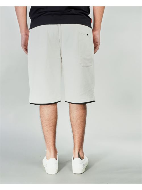 Bermuda Diagonal Raised Fleece C.P. Company C.P. COMPANY | Pantalone | 10CMSB129A005086W103