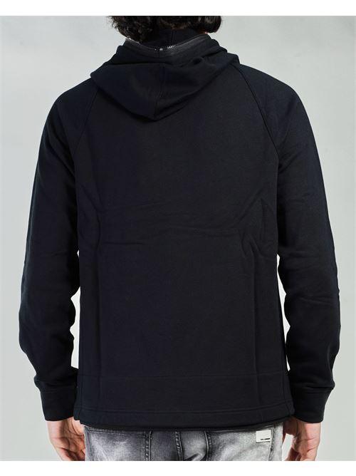 Felpa Metropolis Series Diagonal Raised Fleece Hoodie C.P. Company C.P. COMPANY | Felpa | 10CMSS049A005086W999