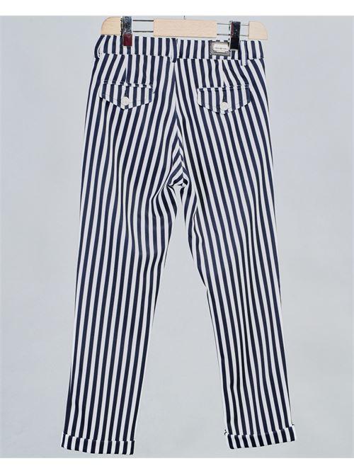 Pantalone fantasia righe Daniele Alessandrini DANIELE ALESSANDRINI | Pantalone | 1235P0569BB