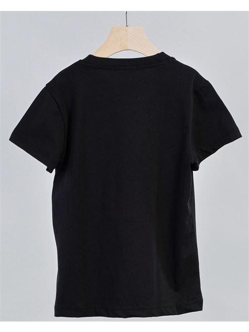 T-shirt con taschino Daniele Alessandrini DANIELE ALESSANDRINI | T-shirt | 1236M0619NERO