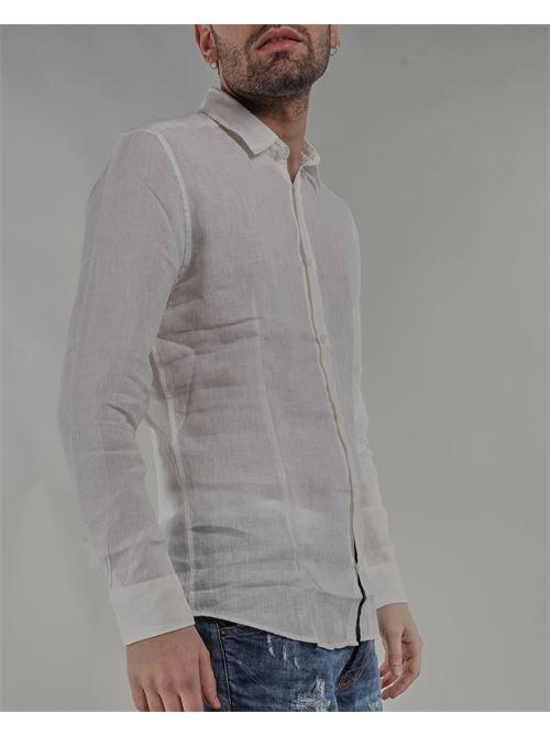 Camicia in lino Daniele Alessandrini DANIELE ALESSANDRINI | Camicia | C6534R339BO40002