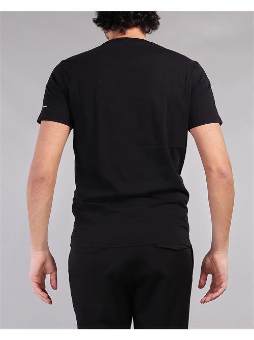 T-shirt con taschino a fantasia Daniele Alessandrini DANIELE ALESSANDRINI | T-shirt | M7483E64341