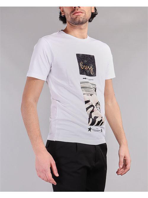 T-shirt con stampa Daniele Alessandrini DANIELE ALESSANDRINI | T-shirt | M7489E64342