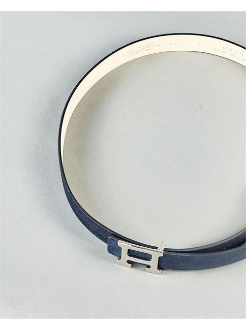 Cintura con logo Daniele Alessandrini DANIELE ALESSANDRINI | Cintura | NL5594A423