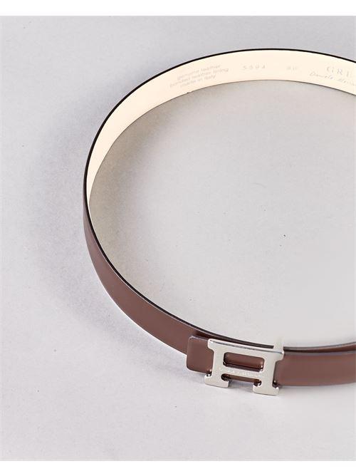 Cintura con logo Daniele Alessandrini DANIELE ALESSANDRINI | Cintura | NL5594A434