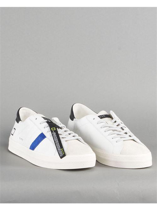 Sneaker Hill Low Vintage Calf White Bluette DATE DATE | Sneakers | M341HLVCWEBIANCO
