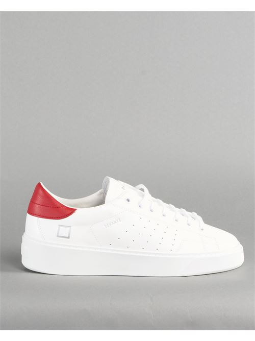 Sneaker Levante Calf White Red DATE DATE | Sneakers | M341LVCAWRBIANCO
