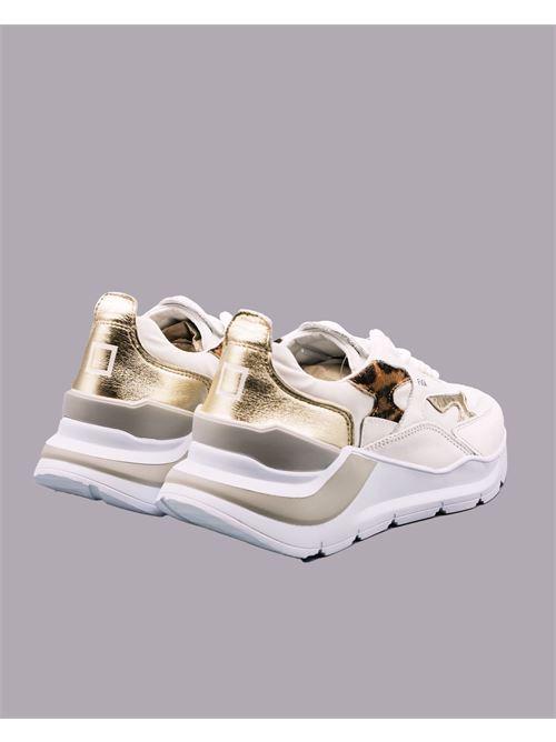 Sneakers Fuga Animalier DATE DATE | Sneakers | W341FGANLEBIANCO