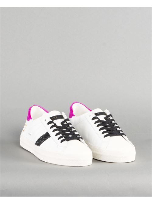 Snekaer Hill Low Pony White Fuxia DATE DATE | Sneakers | W341HLPNWFBIANCO