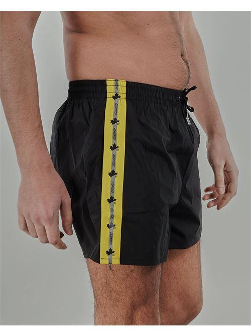 Costume con banda laterale logata Dsquared DSQUARED | Costume | D7B6436601
