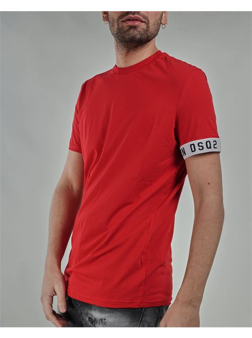 T-shirt con logo sulla manica DSQ2 Dsquared DSQUARED | T-shirt | D9M3S3450613